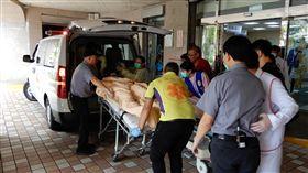 南方澳大橋斷 病患送達聖母醫院   聖母醫院提供