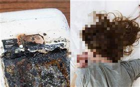 哈薩克,恐怖!手機放枕頭邊充電爆炸 14歲少女遭爆頭慘死睡夢中(圖/翻攝自推特)