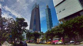 商辦,101大樓,南山廣場。(圖/記者陳韋帆攝影)