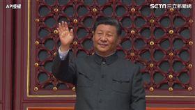中國十一國慶 習近平閱兵/AP授權