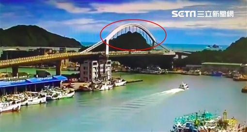 宜蘭,南方澳,斷橋,吊索,震盪,