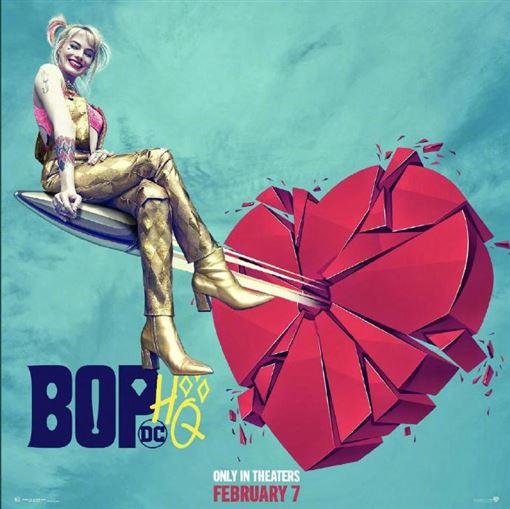 在DC影業《自殺突擊隊》中相當做自己的小丑女,終於將推出新作《猛禽小隊:小丑女大解放 》(Birds of Prey)這次獨立電影中 圖/微博