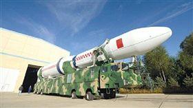 東風41型洲際彈道飛彈。(圖/翻攝自搜狐)