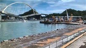 南方澳大橋斷 海巡 監視器