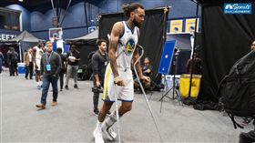 NBA/勇士剛簽…唯一中鋒驚傳扭傷 NBA,金州勇士,Willie Cauley-Stein,扭傷 翻攝自推特