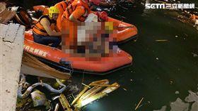 南方澳橋,漁船,崩塌,宜蘭,民眾提供
