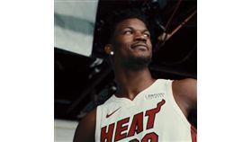 NBA/部隊起床!士官長搶凌晨開練 NBA,邁阿密熱火,Jimmy Butler,士官長 翻攝自熱火官方推特