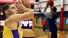 NBA/怪出手改了!球哥新跳投曝光 NBA,紐奧良鵜鶘,Lonzo Ball,跳投 翻攝自推特