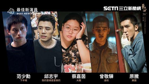金馬獎 最佳新演員 邱志宇 金馬執委會提供
