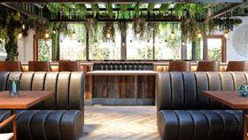 大麻,大麻餐廳,美國,麥莉 美國首間大麻咖啡廳今日在加州西好萊塢市開幕。(圖/翻攝自Lowell Farms:A Cannabis Cafe臉書)