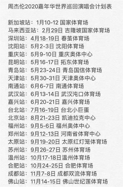 周杰倫(圖/翻攝自臉書)