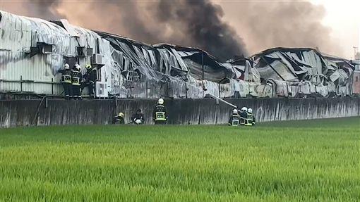 工廠,火災,台中