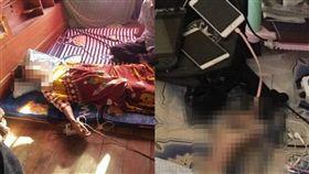 泰國,手機,充電,觸電(合成圖/臉書)