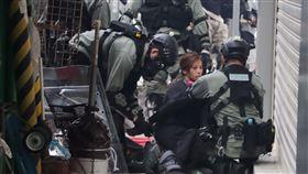 香港,反送中,遭警方起訴,暴動罪,襲警(圖/中央社)