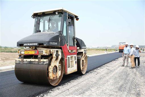 越南,環保意識,永續發展,回收道路,啟用(圖/Deep C工業區開發商提供)中央社