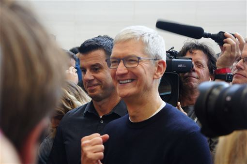 蘋果公司,庫克,最高法院,提出書狀,不滿,追夢人計畫(圖/中央社)