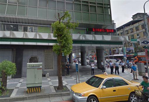 台北捷運,大坪林站,捷運站,月台。(圖/翻攝自Google Map)