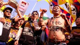 中國,西藏自治區,藏人,拒迎國慶,拘捕(圖/中央社)