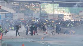 香港,反送中,取消,美酒佳餚巡禮,安全(圖/中央社)