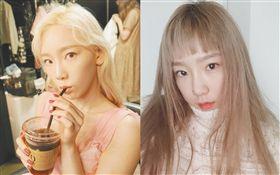 「少女時代」隊長金太妍。翻攝自IG