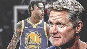 NBA/柯爾:羅素旅湖經歷幫助很大 NBA,金州勇士,D'Angelo Russell,洛杉磯湖人,Luke Walton 翻攝自推特