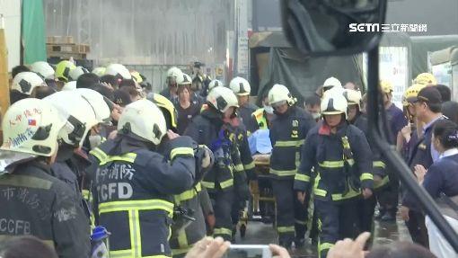 物流工廠陷火海 慟...兩消防員火場殉職