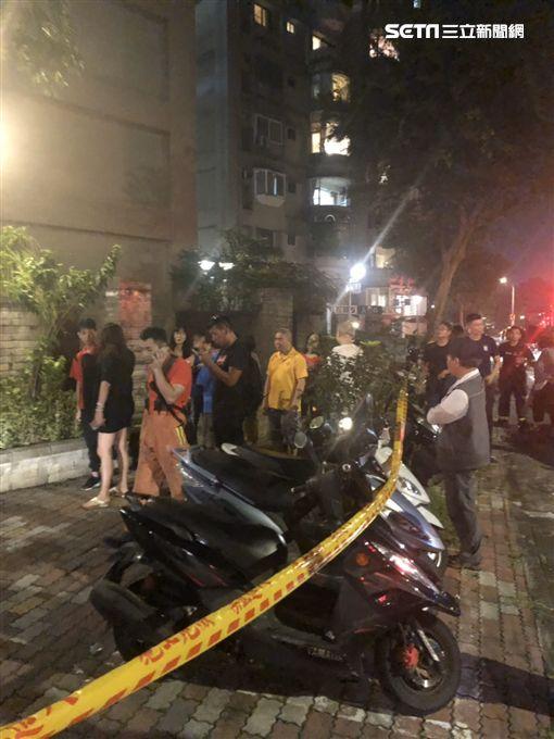 氣爆,灼傷,送醫,台北,翻攝畫面