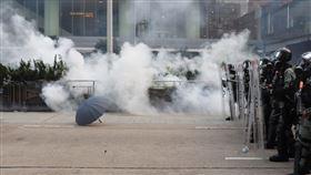 香港,反送中,示威,催淚彈,驅散人群(圖/反送中,示威,催淚彈,驅散人群(圖/中央社)