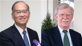 美專家3日呼籲,國安會秘書長李大維(左)5月與時任美國安顧問波頓(右)的高層會晤應成常態性並邀日方參與。(左為中央社檔案照片,右取自twitter.com/AmbJohnBolton)