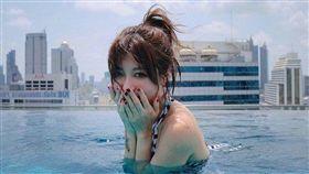香港女星林泳淘因支持反送中被TVB開除。翻攝IG