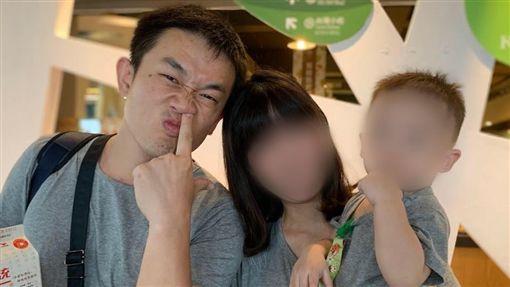 謝志雄,孕妻,殉職,台中/翻攝臉書