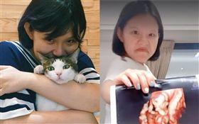 「Hold住姊」謝依霖拍影片宣布懷二胎。翻攝微博