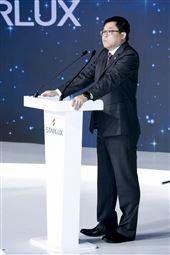 星宇航空制服發表會董事長張國煒。(圖/記者林士傑攝影)