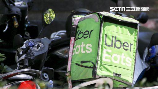 Uber Eats外送員。(圖/記者林士傑攝影)