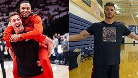 NBA/喜愛士官長鐵血!雷納德被酸 NBA,波特蘭拓荒者,Damian Lillard,Meyers Leonard,CJ McCollum,Jimmy Butler 翻攝自推特