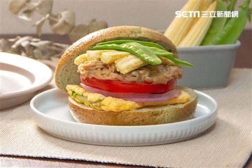 貝果,好丘,外食族,蔬爽貝果堡,溫沙拉,爭鮮,爭鮮外帶壽司