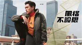 ▲彭于晏、張鈞甯。(圖/adidas提供)