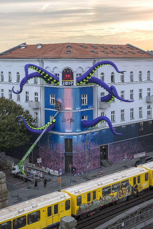 柏林城市當代藝術館柏林城市當代藝術館聚焦街頭塗鴉和裝置藝術,2017年開館以來參觀人潮不斷,成為柏林最熱門的博物館之一。(Nika Kramer/URBAN NATION 提供)中央社記者林育立柏林傳真  108年10月5日
