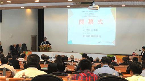 2019教育政策研討會登場黃昆輝教授教育基金會5日在台北舉辦「2019教育政策研討會」,上百名學者出席。中央社記者陳至中台北攝 108年10月5日