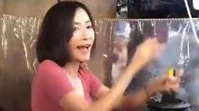 泰國,果汁,果汁攤,正妹(圖/翻攝自youtube)