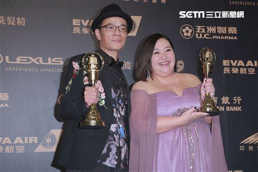 迷你劇集(電視電影)女主角獎由鍾欣凌《你的孩子不是你的孩子-貓的孩子》拿下(圖/記者邱榮吉、林士傑、林聖凱攝影) 金鐘獎
