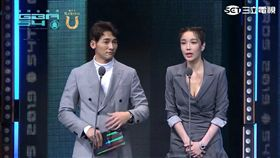 溫昇豪、蔡淑臻在《犀利人妻》演舊情人後罕見同台。(圖/翻攝自YouTube)