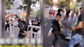 (圖/翻攝自時間視頻)中國,河南,新郎,婚鬧,姪子