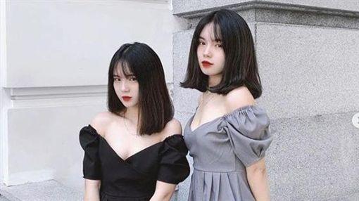 越南,雙胞胎,正妹,奧黛,高中生https://www.instagram.com/thhang191/