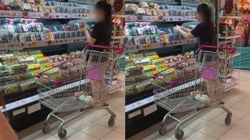 奧客,超市,市場,馬來西亞,員工,勸阻,草莓,挑選,開盒,憤怒, 圖/翻攝自YouTube