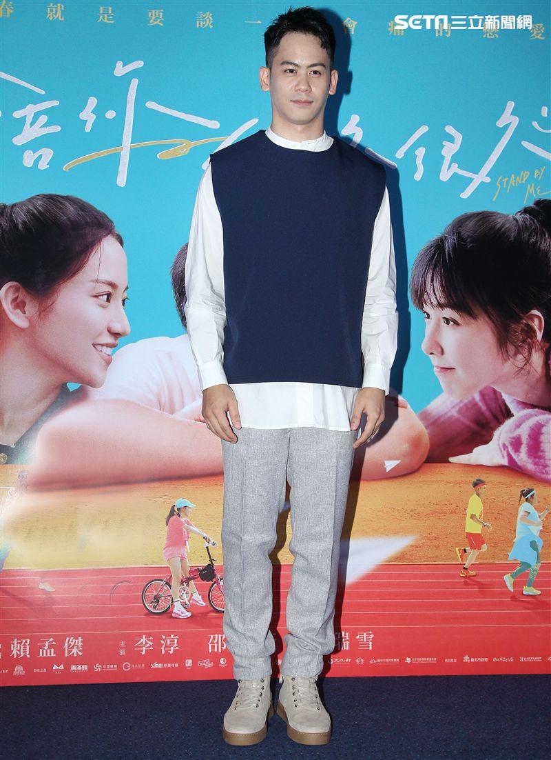 電影「陪你很久很久」演員李淳。(記者邱榮吉/攝影)