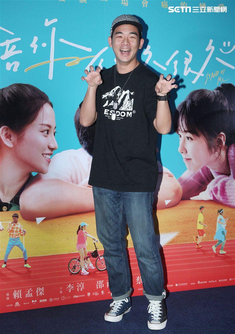 電影「陪你很久很久」演員胡瑋杰。(記者邱榮吉/攝影)