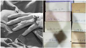 爸癌逝前寫「19年份」生日卡!媽交信給她:盼妳用心聆聽(圖/當事人授權)