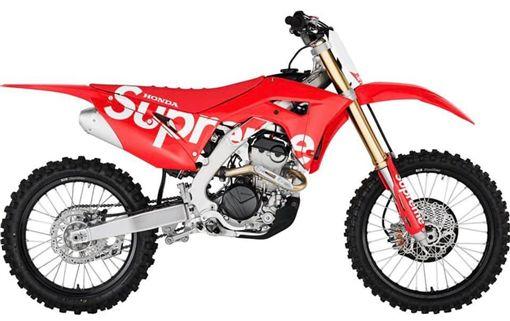 ▲Supreme X Honda CRF250R(圖/翻攝網路)