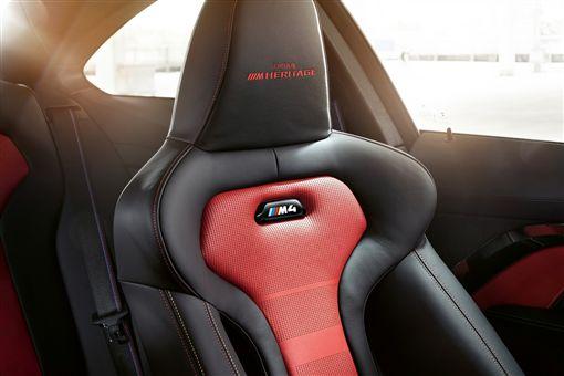 ▲BMW M4 Edition ///M Heritage限量推出。(圖/BMW提供)